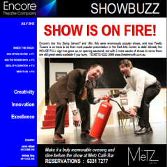 July 2012 SHOW IS ON FIRE!