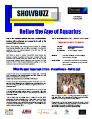 February 2009 Relive the Age of Aquarius