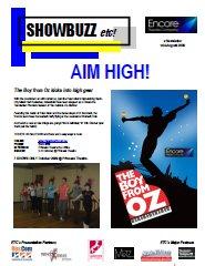 August 2009 AIM HIGH!