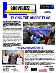 September 2009 FLYING THE AUSSIE FLAG