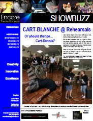 February 2010 CART-BLANCHE @ Rehearsals