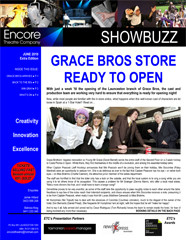 June 2010 GRACE BROS STORE  READY TO OPEN