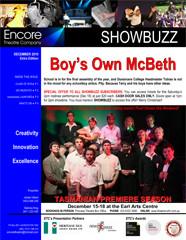 December 2010 Boy's Own McBeth