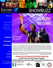 April 2011 JOSEPH  BEGINS