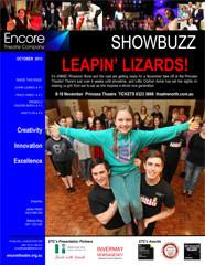 October 2013 Leapin' Lizards!