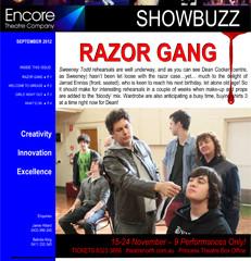 September 2012 RAZOR GANG