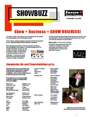 June 2008 Show Business!