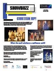 October 2008 Curtain Up!