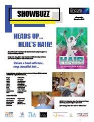 November 2008 Heads Up…Here's hair