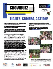 December 2008 Lights, Camera, Action!