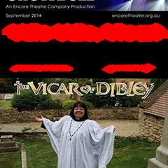September 2014 Allo Allo Vicar