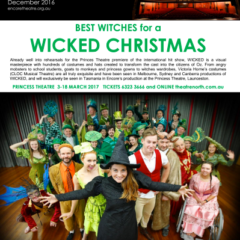 December 2016 Best Witches for a WICKED Christmas!