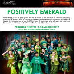 January 2017 Positively Emerald!