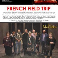 June 2017 Field trips & forward planning