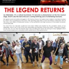 November 2017 – THE LEGEND RETURNS